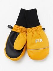 Lyžařské rukavice FIX Žlutá