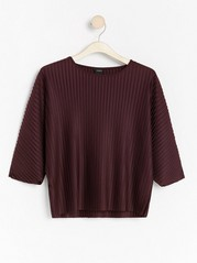 Pleated top  Red