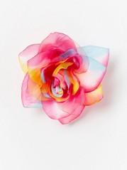 Flower Hair Clip Pink