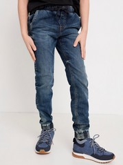 Regular fit jeans i extra slitstarkt material Blå