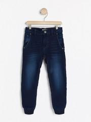 Volné džíny Modrá