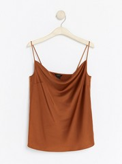 Camisole with Spaghetti Straps  Orange