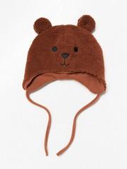 Čepička medvídek Hnědá