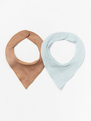 2-pack bomullsscarves Aqua