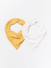 2-pack scarves Yellow