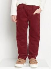 Kalhoty bez zapínání Červená