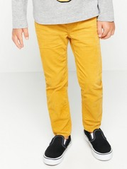 Kalhoty bez zapínání Žlutá