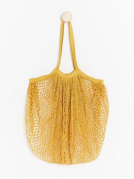 Verkkolaukku Keltainen