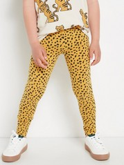 Patterned leggings Yellow