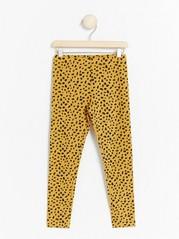 Patterned leggings Yellow