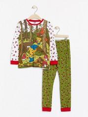 Pyjamas with Bamse motif Khaki