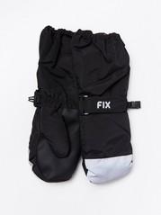 Lyžařské rukavice FIX Černá