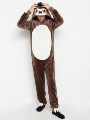 Sloth onesie Brown