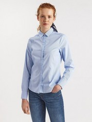 Košile sdlouhým rukávem Modrá