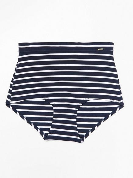 Klassiset korkeavyötäröiset alushousut lyocell-sekoitetta Sininen