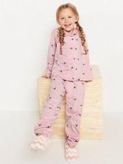 Pyžamo spotiskem Růžová