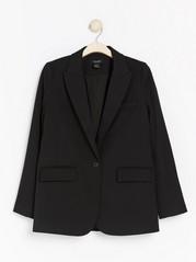 Volné sako Černá