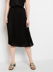 Pleated black skirt  Black