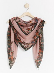 Floral scarf  Pink