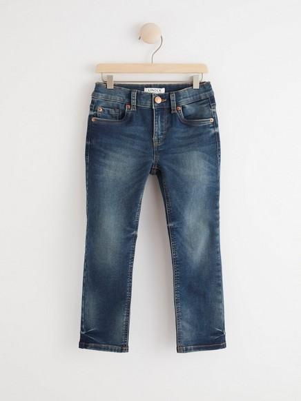 Blå jeans med normal passform Blå