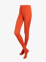 Matné punčochové kalhoty, 80DEN Oranžová