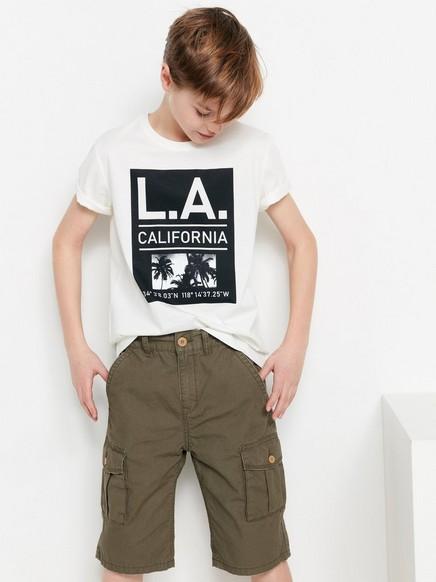 Mustavalkoinen t-paita Valkoinen