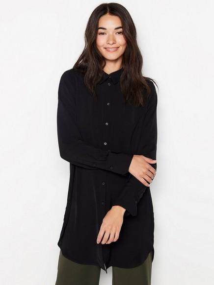 Musta pitkä pusero Musta