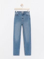 Světle modré džíny Modrá