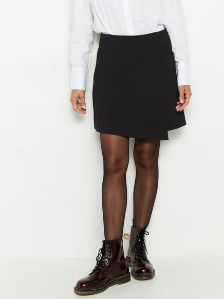 Kort svart kjol Svart
