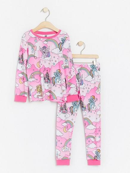 Pink pyjamas with My Little Pony print Pink