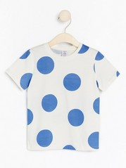 Short sleeve t-shirt with print Blue