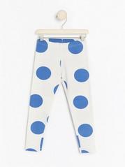 Patterned leggings Blue
