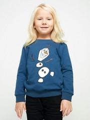 Blå genser med Frost-motiv Blå