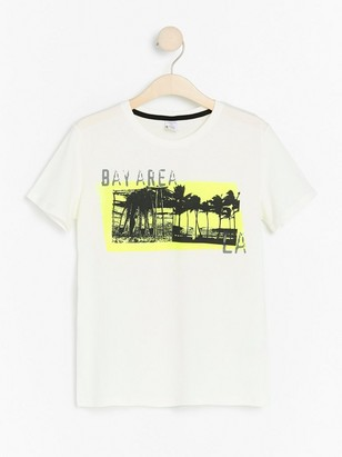 Short sleeve t-shirt with print White