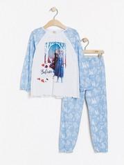 Pyjamas med Frost-tryck Blå
