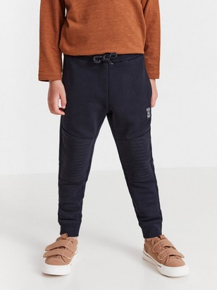 Sweatpants with reinforced knees Blue