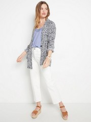 Tank top with lace  Blue