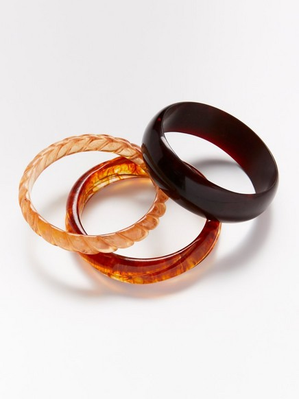 3-pack bangles Red