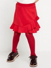 Červená sukně Červená