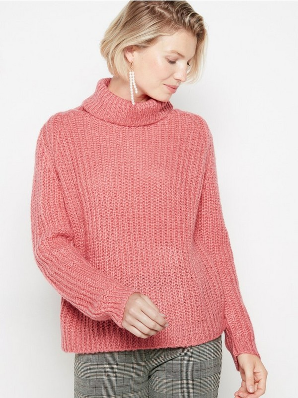 Jeans Kjol, LINDEX, stl 34, rosa