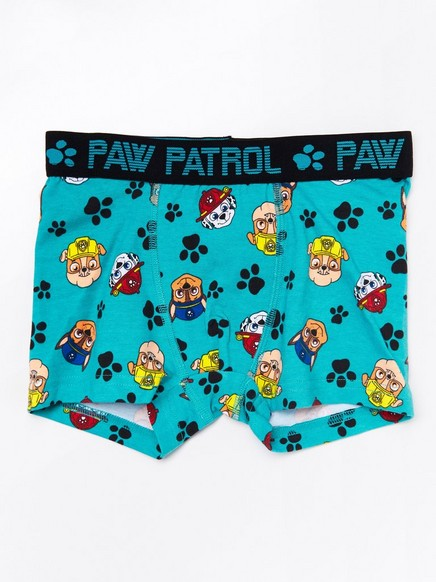 Boxer shorts with Paw Patrol print Turquoise