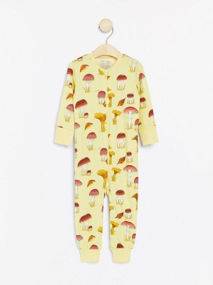 Pyžamo shoubami Žlutá