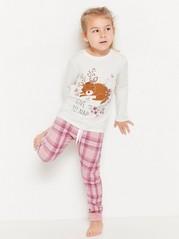 Pyžamo spotiskem Bílá