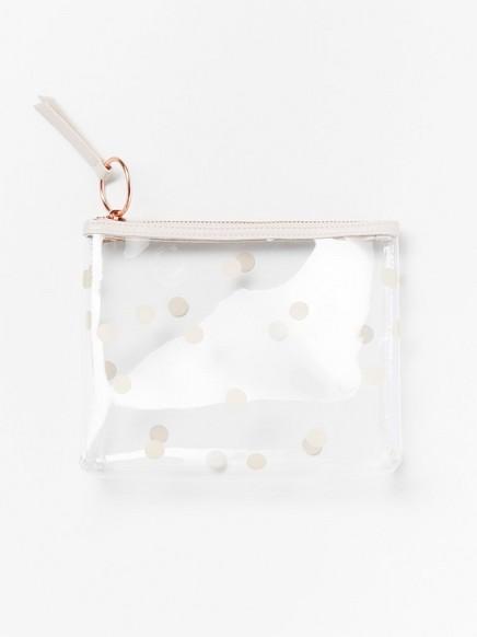 Transparent sminkväska Blank