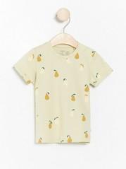 Patterned short sleeve t-shirt Green