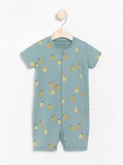 Turkos pyjamas med päron Turkos