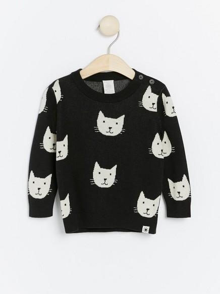 tröja med katt
