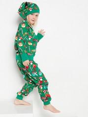 Vánoční kostým Zelená