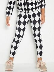 Leggings med mønster Hvit
