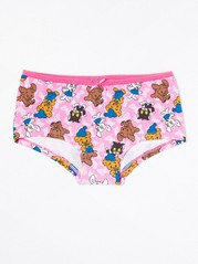 Pink briefs with Bamse print Pink